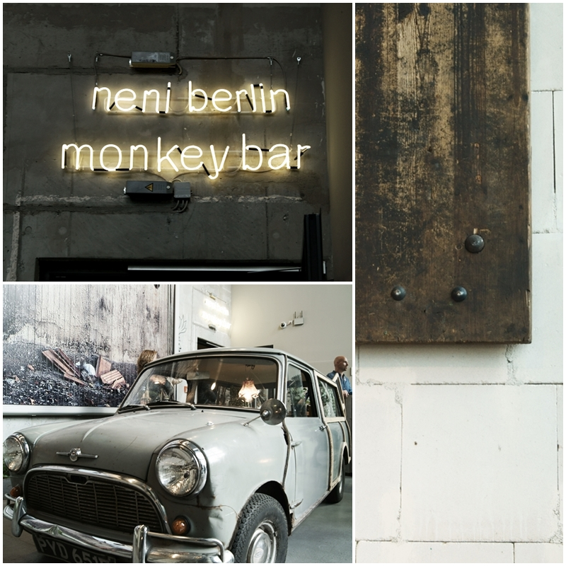 Blog + Fotografie by it's me! - Bloggertreffen in Berlin - Collage Monkey Bar, Berlin