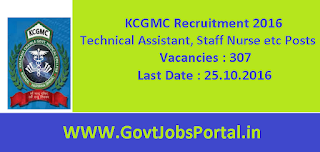 KCGMC Recruitment