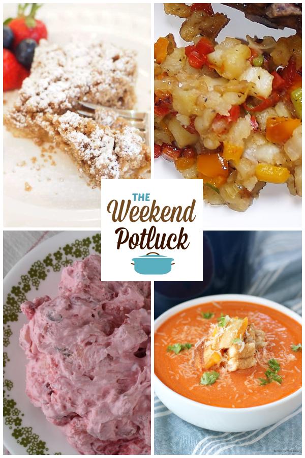 A virtual recipe swap with Starbucks Coffee Cake, Potatoes O'Brien, Strawberry Delight, Creamy Tomato Soup and dozens more!