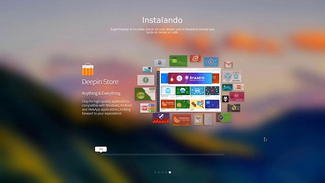 Instalando Deepin OS