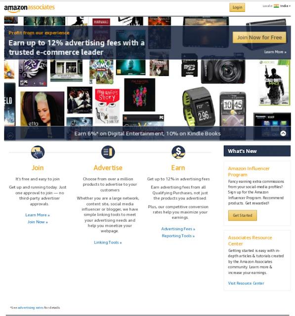 Amazon affiliate program par account kiase banaye  (in hindi)