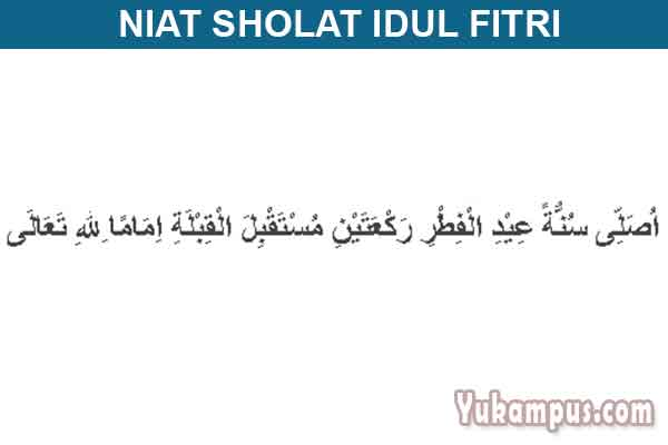 Niat dan Tata Cara Sholat Idul Fitri dan Idul Adha Sesuai