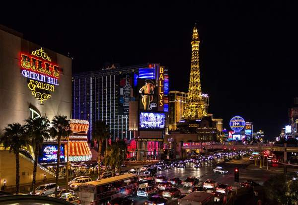 The Strip, Las Vegas in Hindi