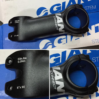 Stem Giant Connect 90 mm 8 degree Os 31,8