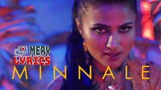 Minnale By Vidya Vox - Lyrics