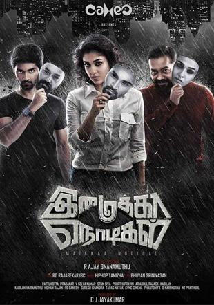 Imaikkaa Nodigal 2018 Hindi Dubbed Movie HDRip 480p Dual Audio ESub UNCUT