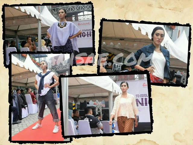 Fashion Show Launching Foodcourt Sarinah Malang