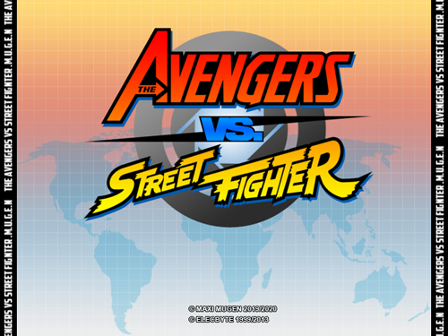 AVENGERS VS STREET FIGHTER MUGEN 2019