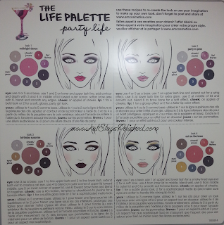 em michelle phan - The Life Palette- Party Life - Get the Look