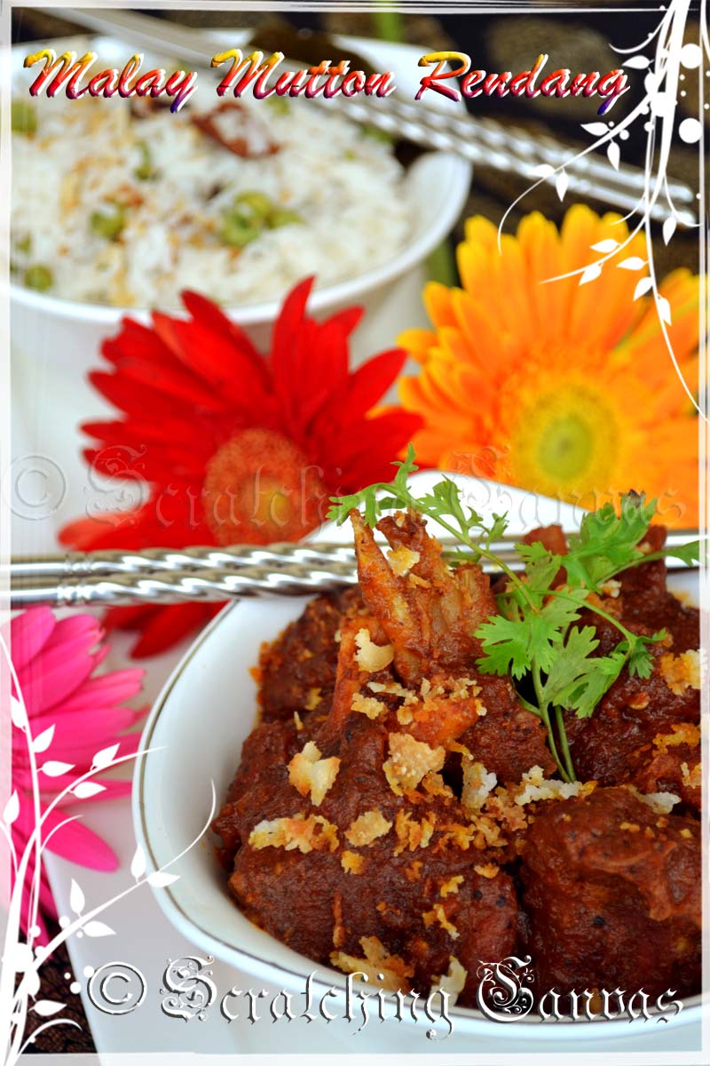 Malay mutton rendang or rendang daging reliving memories of malaysia forumfinder Choice Image