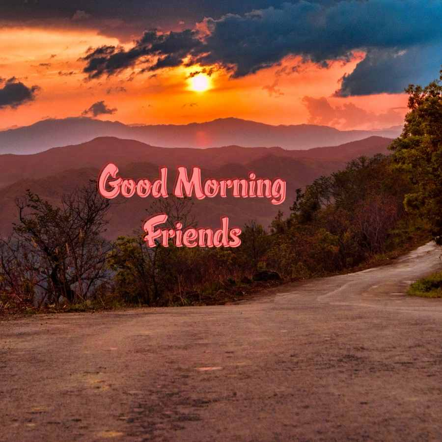 good morning to best friend
