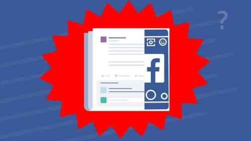Facebook is testing new animations when sharing posts