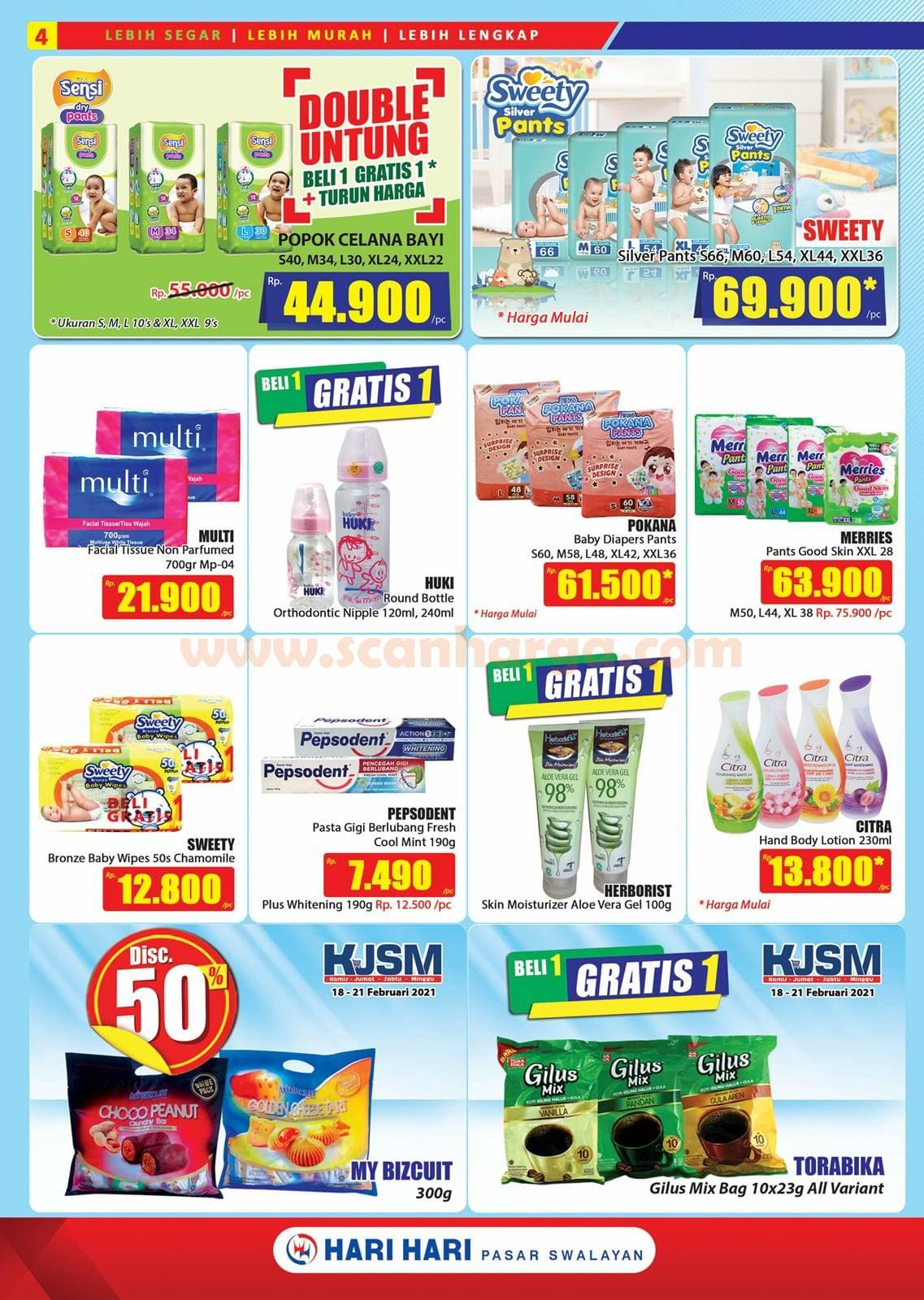 Katalog Promo Hari Hari Pasar Swalayan 18 Februari - 3 Maret 2021 4