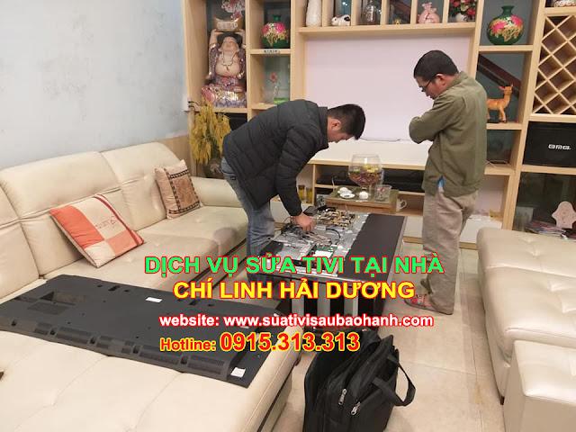Sửa tivi tại nhà ở Chí Linh Hải Dương