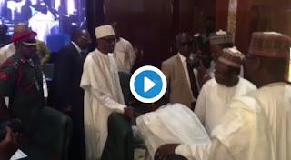 Buhari meets 36 State Governors