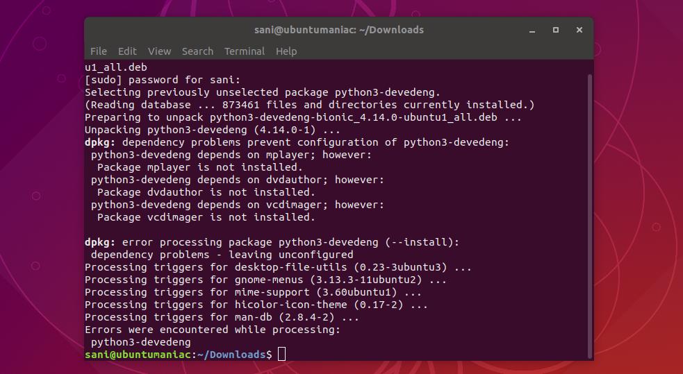 Install DevedeNG 4 14 0 on Ubuntu (18 04 Bionic Beaver