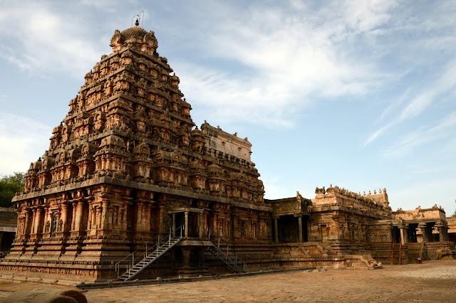 Ruta de templos sur de India