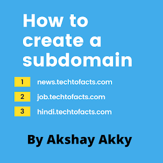 how to create a subdomain what is a domain what is a subdoamin
