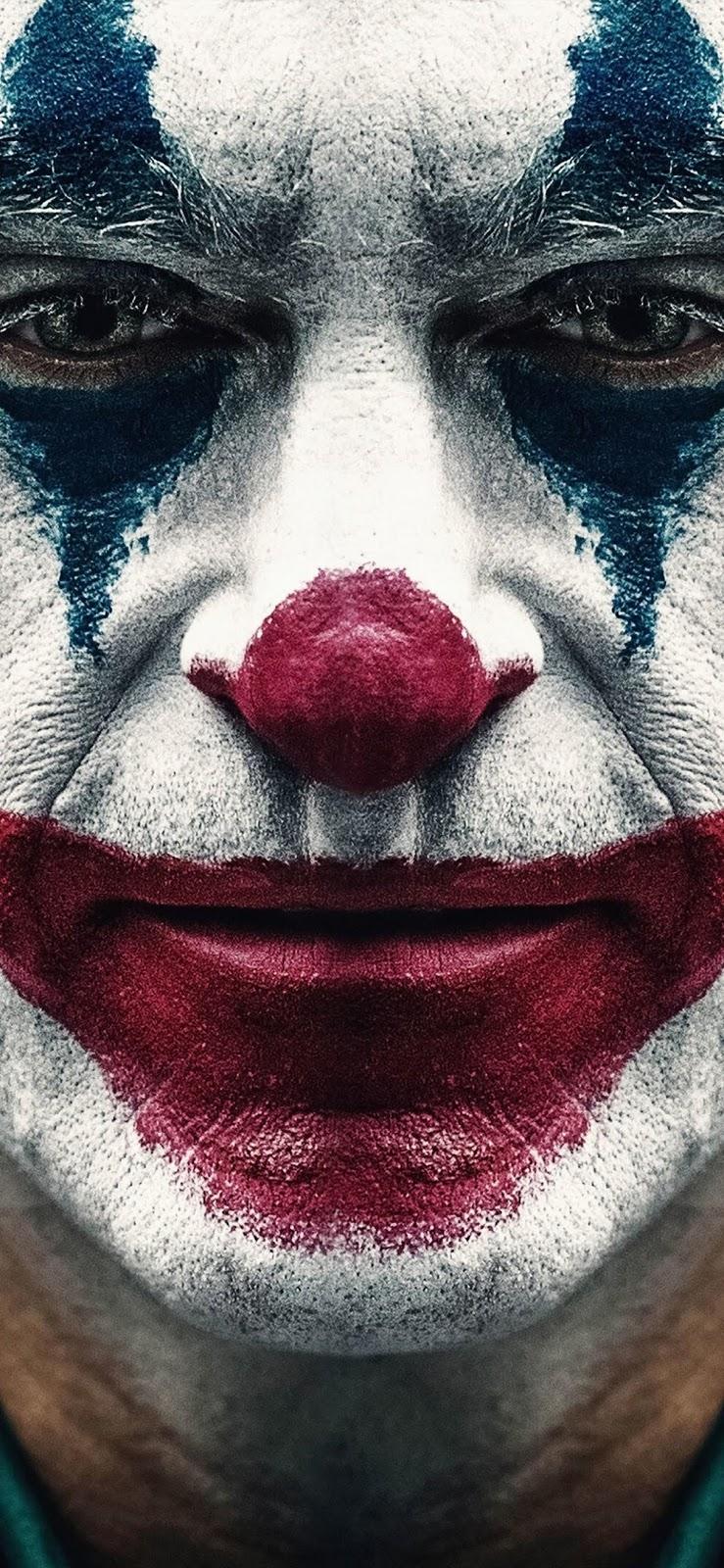 joker 2019 joaquin phoenix clown iphone xs max wallpaper