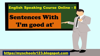 English Speaking Course Online - 8