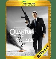 007: QUANTUM (2008) BDREMUX 2160P HDR MKV ESPAÑOL LATINO