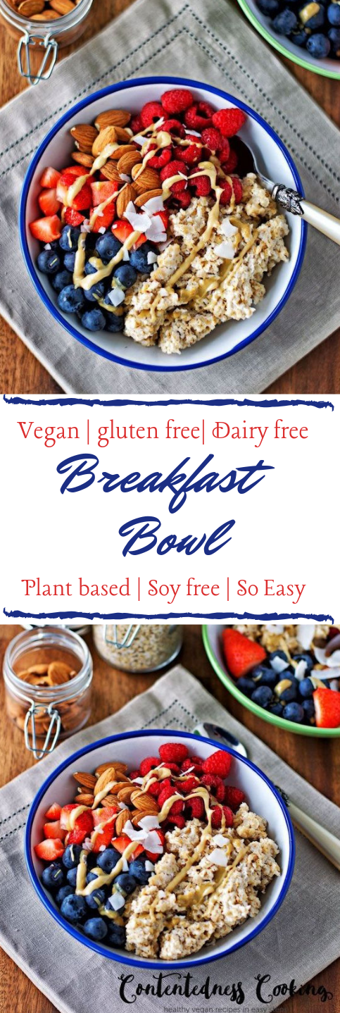 BREAKFAST BOWL #breakfast #vegan #yummy #easy #mealrecipes