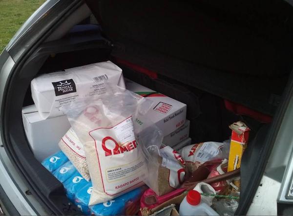 Πολιτιστικός Σύλλογος Τραπεζικών Ν. Ηλείας: Το Δ.Σ. επισκέφτηκε το Άσυλο Ανιάτων'' Νέα Βασιλειάς και μοίρασε τρόφιμα- Έδωσαν τρόφιμα και στο Θεματικό Πάρκο Ξυστρή