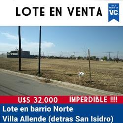 Lote 300 m2 Barrio Norte I