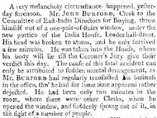The Times 8th May 1800
