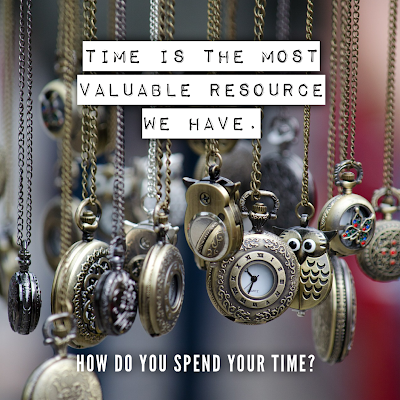 Time is the most important resource we have.