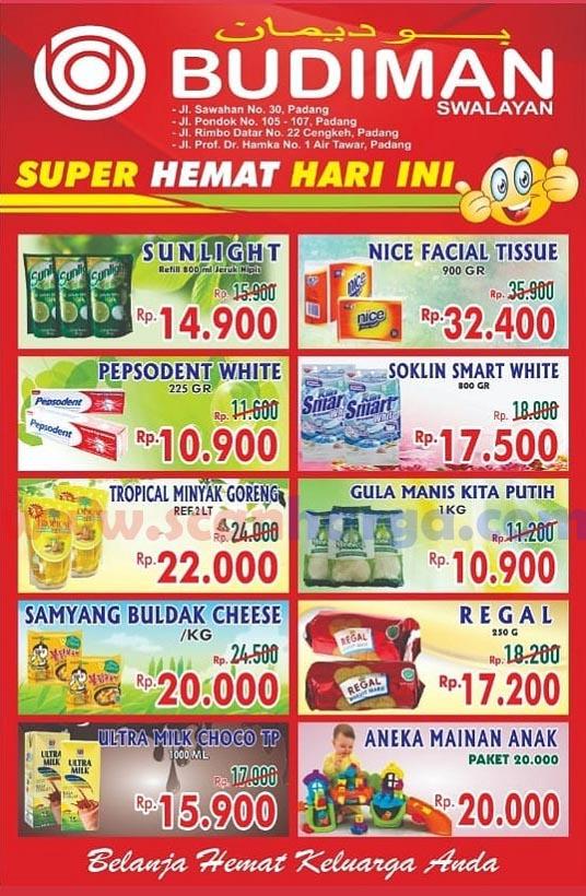 Katalog Promo Budiman Swalayan Terbaru Juli 2019