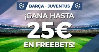 Paston promo champions Barcelona vs Juventus 8-12-2020