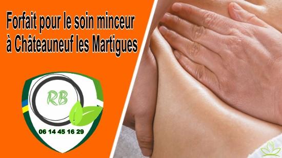 Forfait pour le soin minceur à Châteauneuf les Martigues;