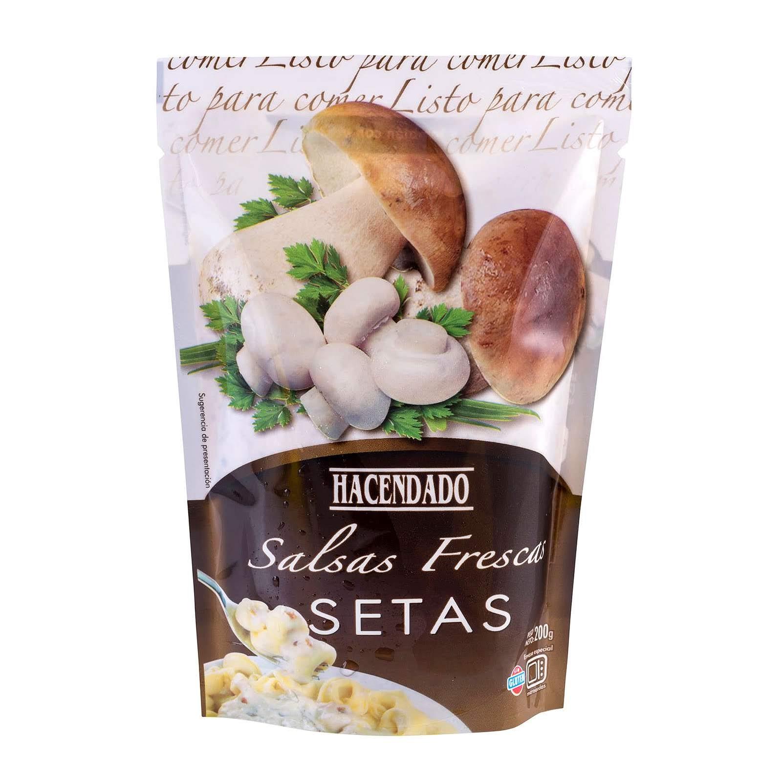Productos Mercadona Salsa Fresca Setas Hacendado