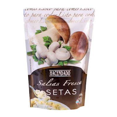 Salsa fresca setas Hacendado