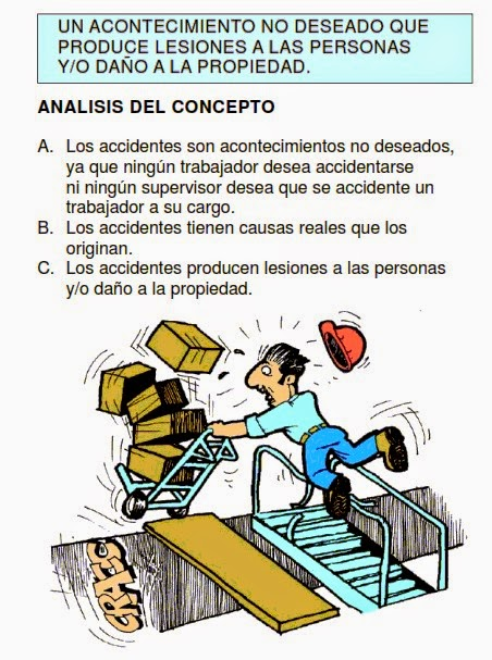 accidentes, laborales, concepto