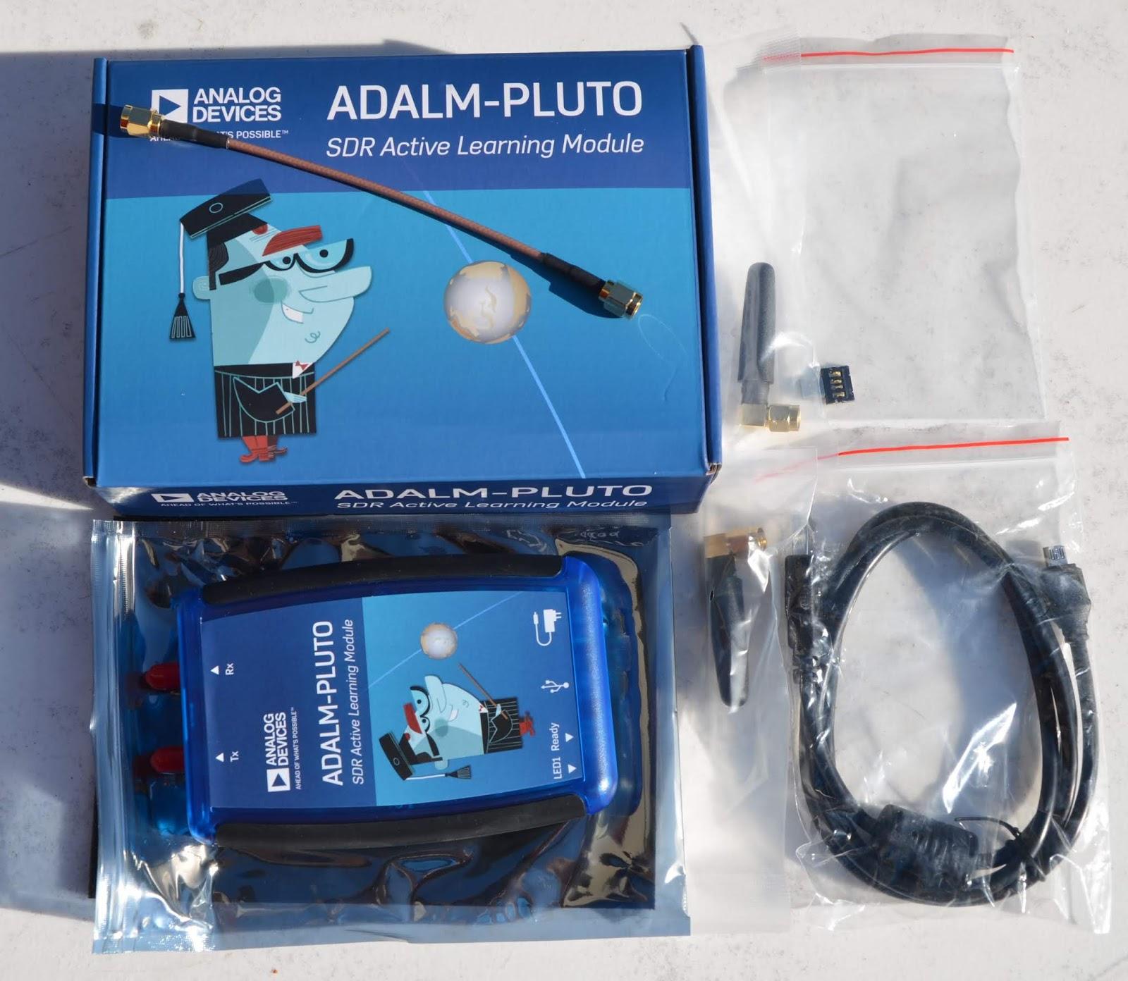 RadioCommunications: SDR: ADALM-PLUTO