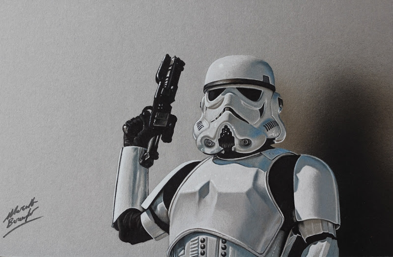 11-Stormtrooper-Marcello-Barenghi-Realistic-Movie-Character-Drawings-www-designstack-co