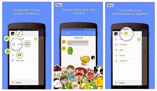 Aplikaso SMS Android Go SMS Pro