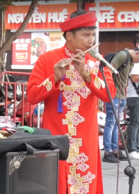 Vietnamese New Year Costume