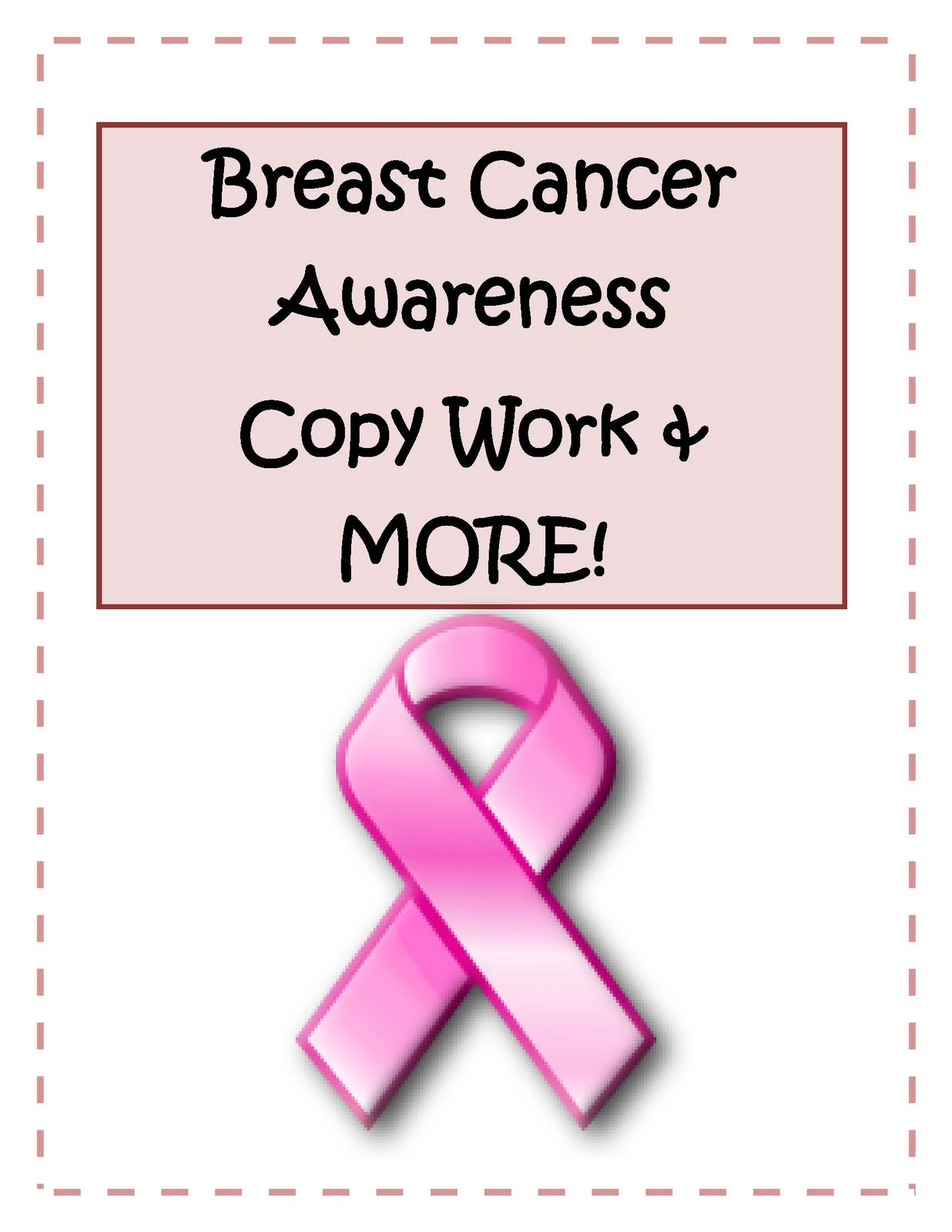 Engaging Lessons And Activities Breast Cancer Awareness