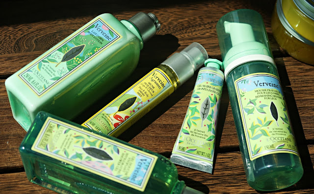 L'Occitane Limited Edition Summer Verbena Collections Review, Photos