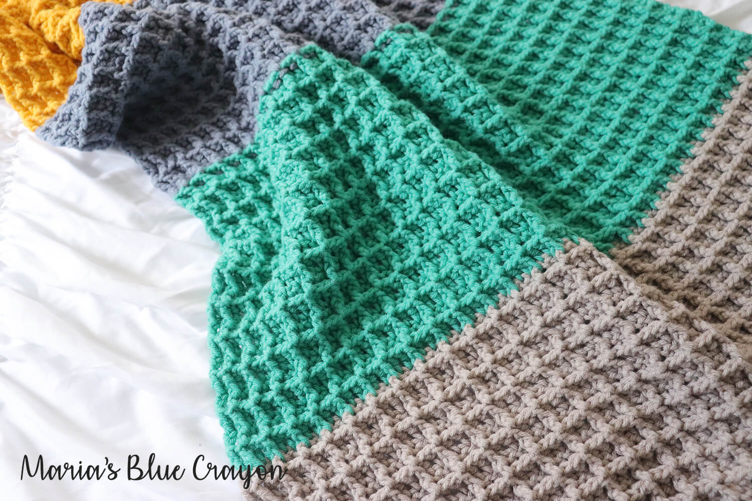 6afbc3b3c I love making this waffle stitch and I think you will enjoy it too! Easy  enough for a beginner and meditative mindless work for the more experienced  ...