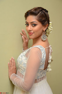 Anu Emmanuel in a Transparent White Choli Cream Ghagra Stunning Pics 052.JPG