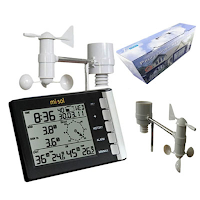 Jual Anemometer Murah Weather Station Wireless Misol WH5302 Call 0812-8222-998