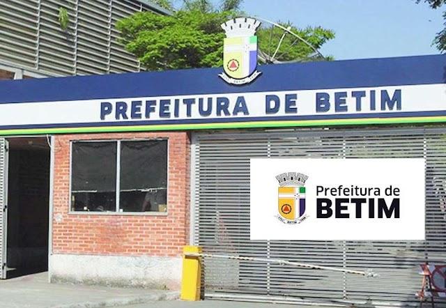 Concurso da Prefeitura de Betim: Edital oferece 400 cargos de Níveis Médio e Superior