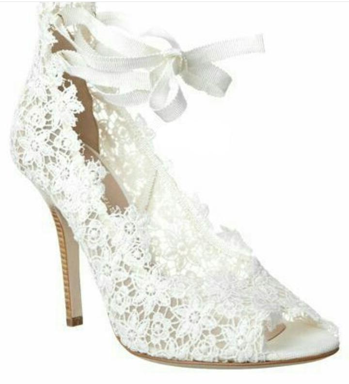 bodas, inspiración.: calzado novia