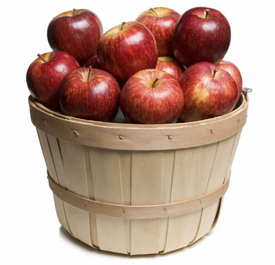 How many apples in the basket?