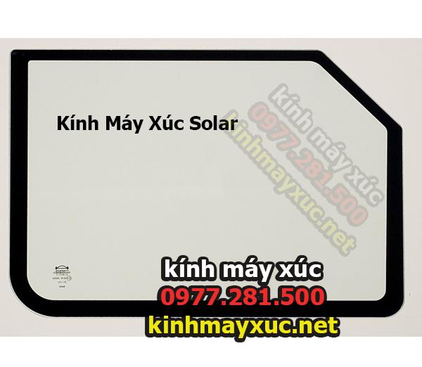 Kính  Hông Cần Solar,Kính Máy Xúc Solar, Kính Máy Xúc Deawoo, Lắp Đặt Kính Máy Xúc