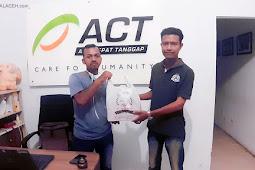 Mahasiswa Aceh Gandeng ACT untuk Produksi Hand Sanitizer
